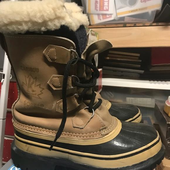 6fe3a04d791 Vintage Men s Sorel Kaufman Caribou Boots. M 5acd7c355512fd7cc1d5a2fa